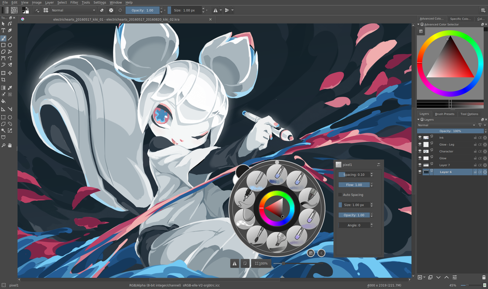 Krita Is A Professional Free And Open Source Painting Program It