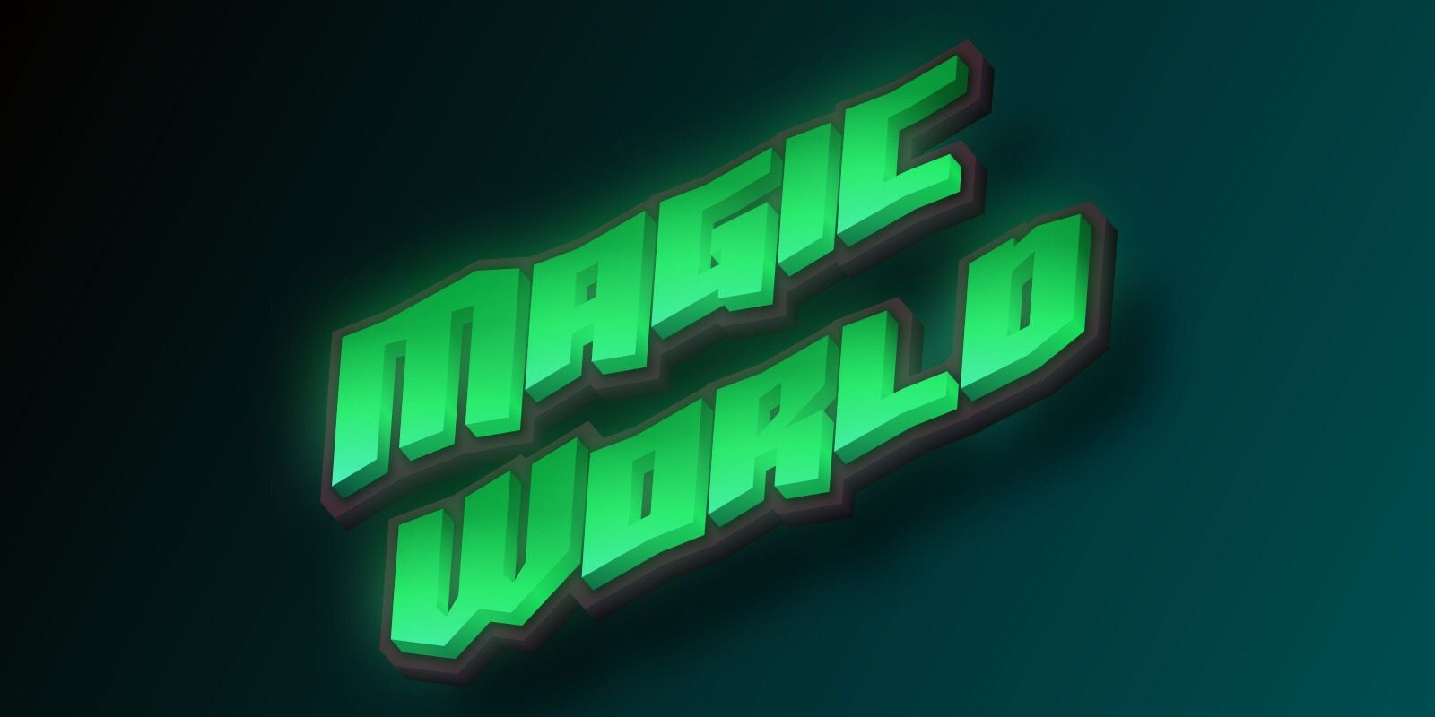 Create online cool font magic effect text 3d font logo
