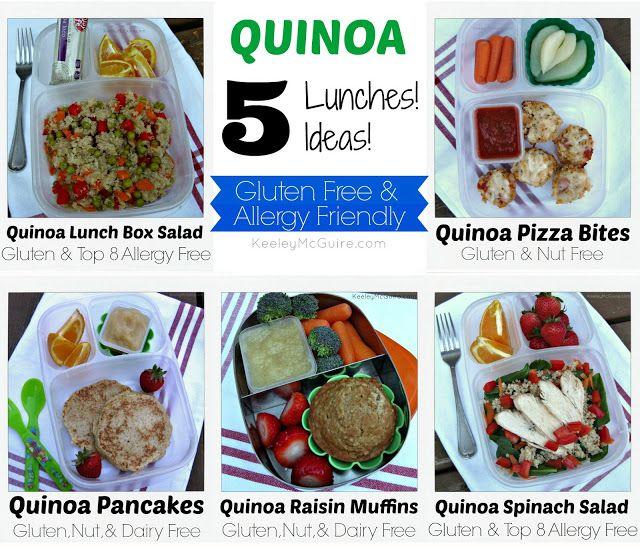 Lunch Made Easy Quinoa Gluten Free Allergy Friendly Ideas