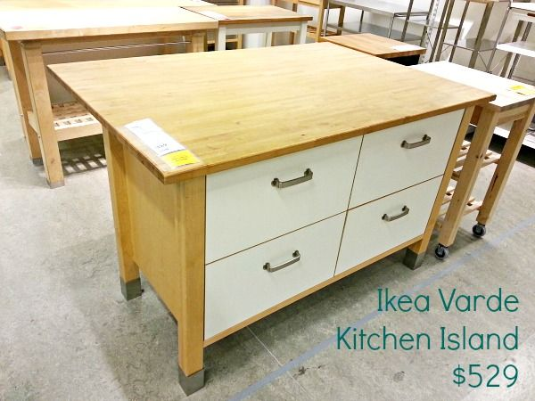 Butcher Block Island Ikea : How to seal Ikea Varde butcher block #polyurethane #clever_nest DIY Home Decor Ideas Kitchen ...