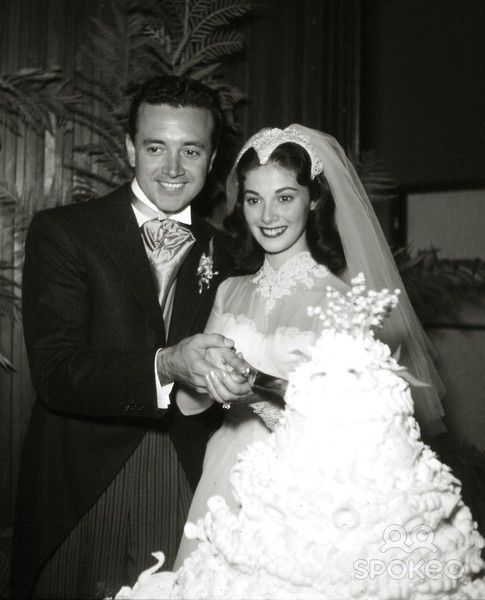 Celebrity Wedding Singers: November 24, 1954: Actress Pier Angeli And Singer Vic