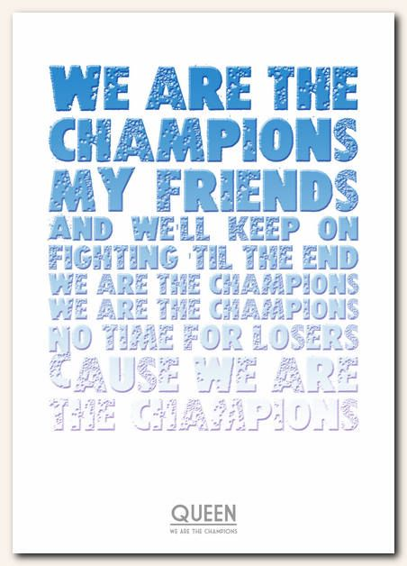 Best 25 We Are The Champions Ideas On Pinterest Queen