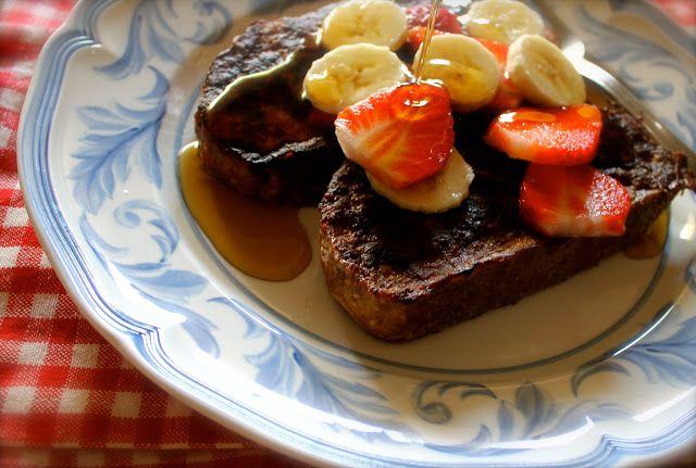 Savoir Faire: Healthy Multi Grain French Toast with Fresh Fruit