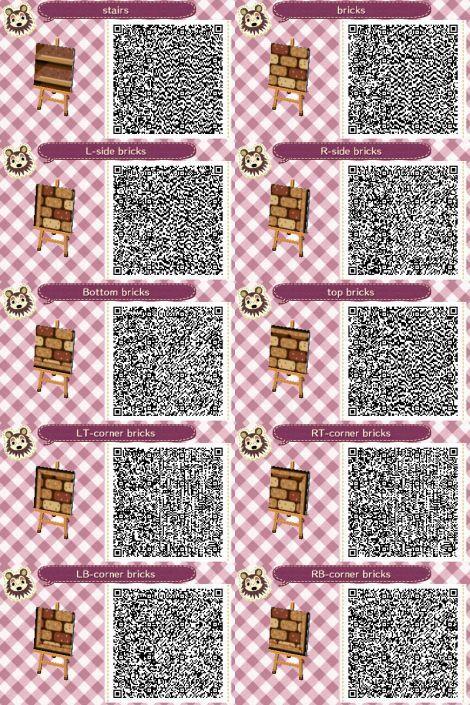 Animal Crossing Path Brick Path Paths And Qr Codes