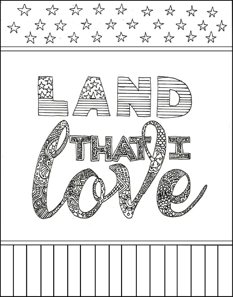 4th Of July Printable Coloring Pages Pdf Shared Files Acrobat Com Printable Coloring Pages Flag Coloring Pages Coloring Pages