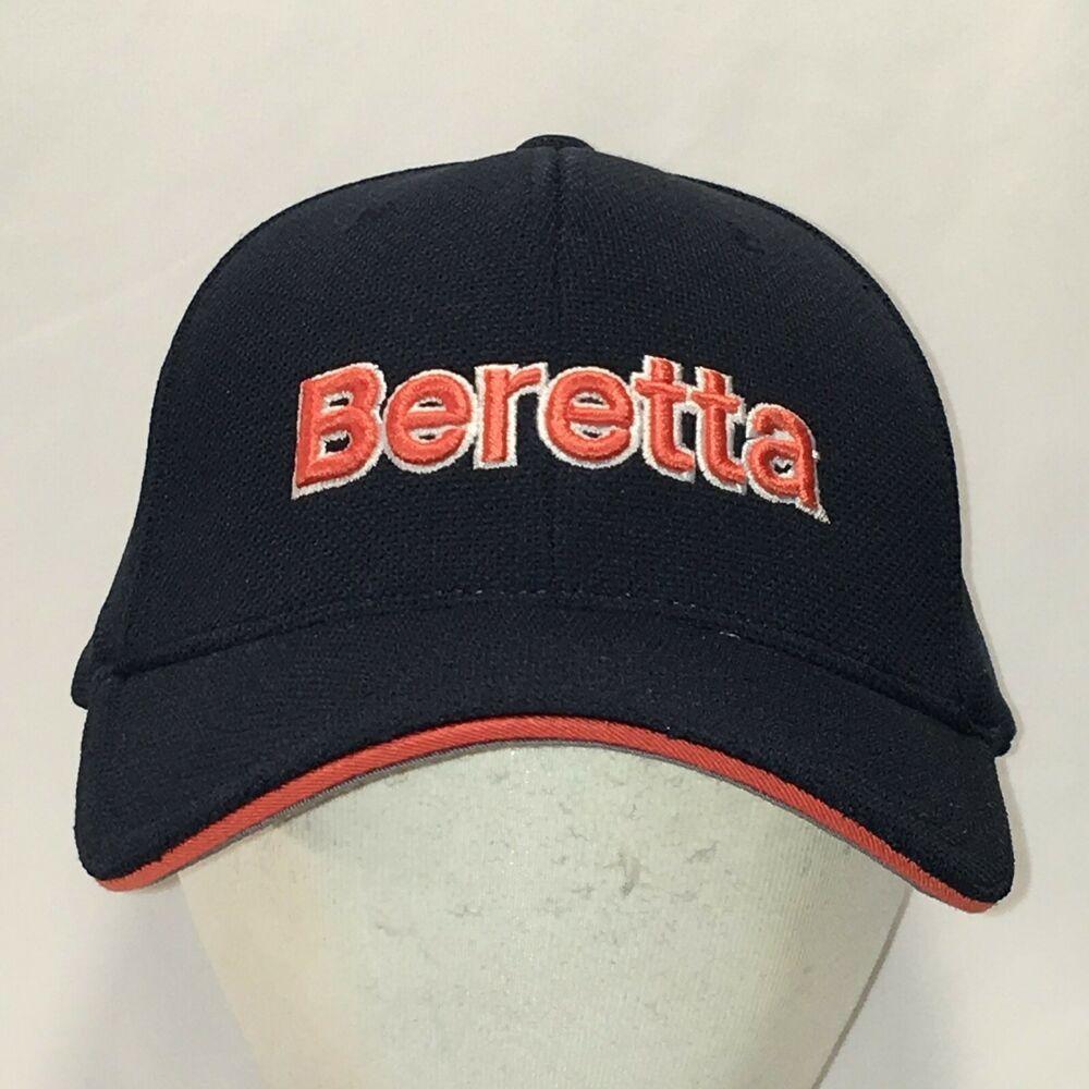 2a0934ee7 Beretta Hat Blue Orange Baseball Cap Firearms Dad Hats Flexfit Caps ...