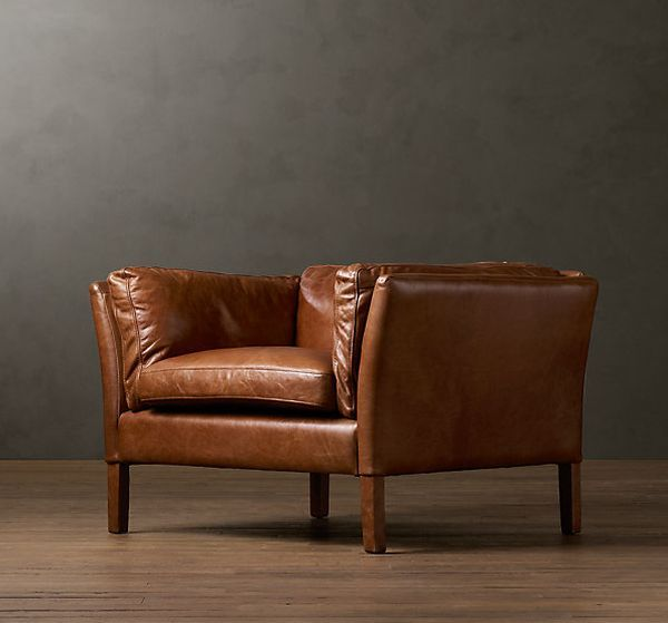 Elegant Leather Chair Brown leather chairs Armchairs and Living