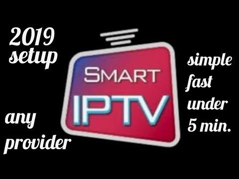 How to setup and use Smart IPTV app (siptv) for smart TVs