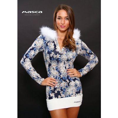 Masca Fashion szőrmeszegélyes kapucnis 1d26025a37