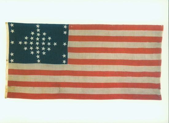 American Flag 1865 Civil War Flags American Flag Battle Flag