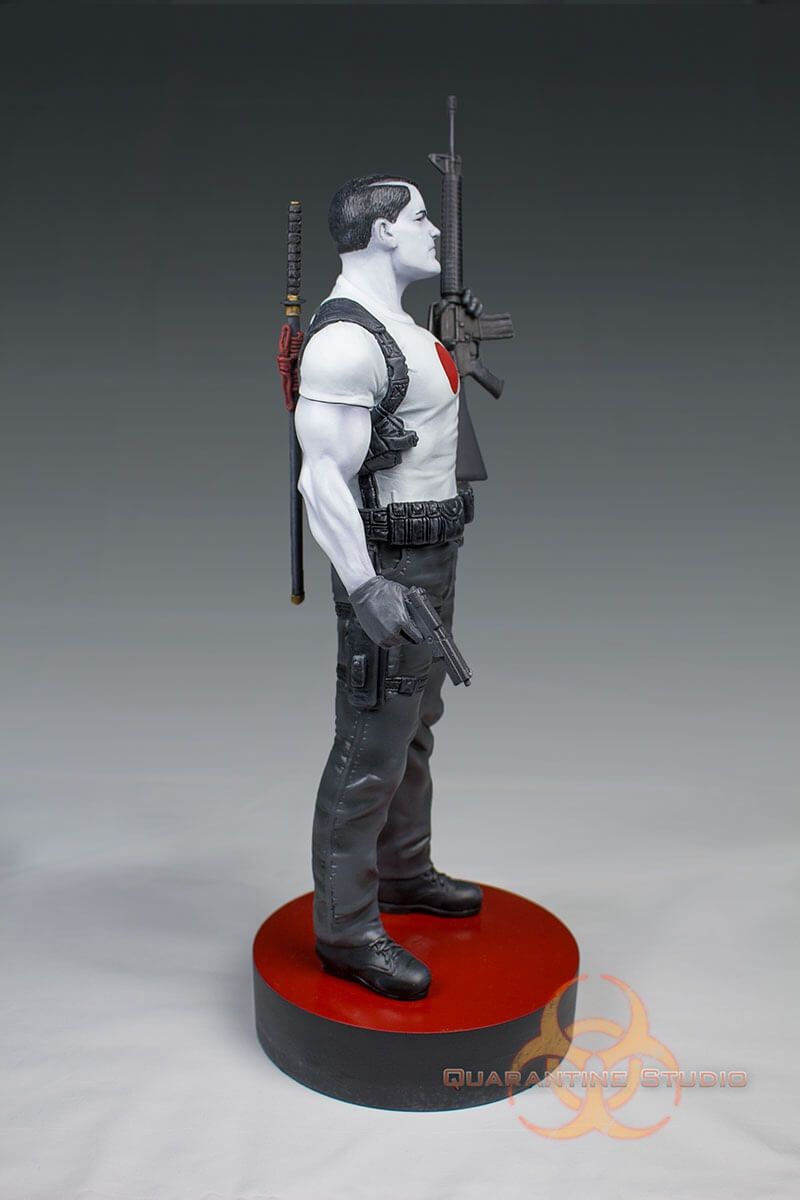 Quarantine Studio Unleashes BLOODSHOT BY DAVID AJA 1/6 SCALE LIMITED STATUE, Valiant's First-Ever Officially Licensed Statue Brings Eisner Award-Winning Artist's Cover to Life in Glorious Detail    Valiant Entertainment and...,  #Bloodshot #Bloodshot#1 #BloodshotReborn #BOBLAYTON #Collectibles #DavidAja #DONPERLIN #KevinVanHook #News #PressRelease #QuarantineStudio #Statue #Valiant #ValiantComics #ValiantEntertainment #VEI