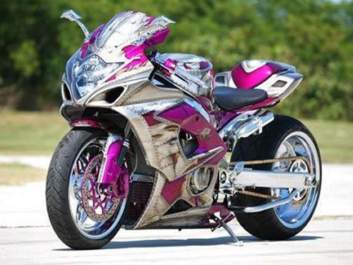 Custom sportbike paint designs