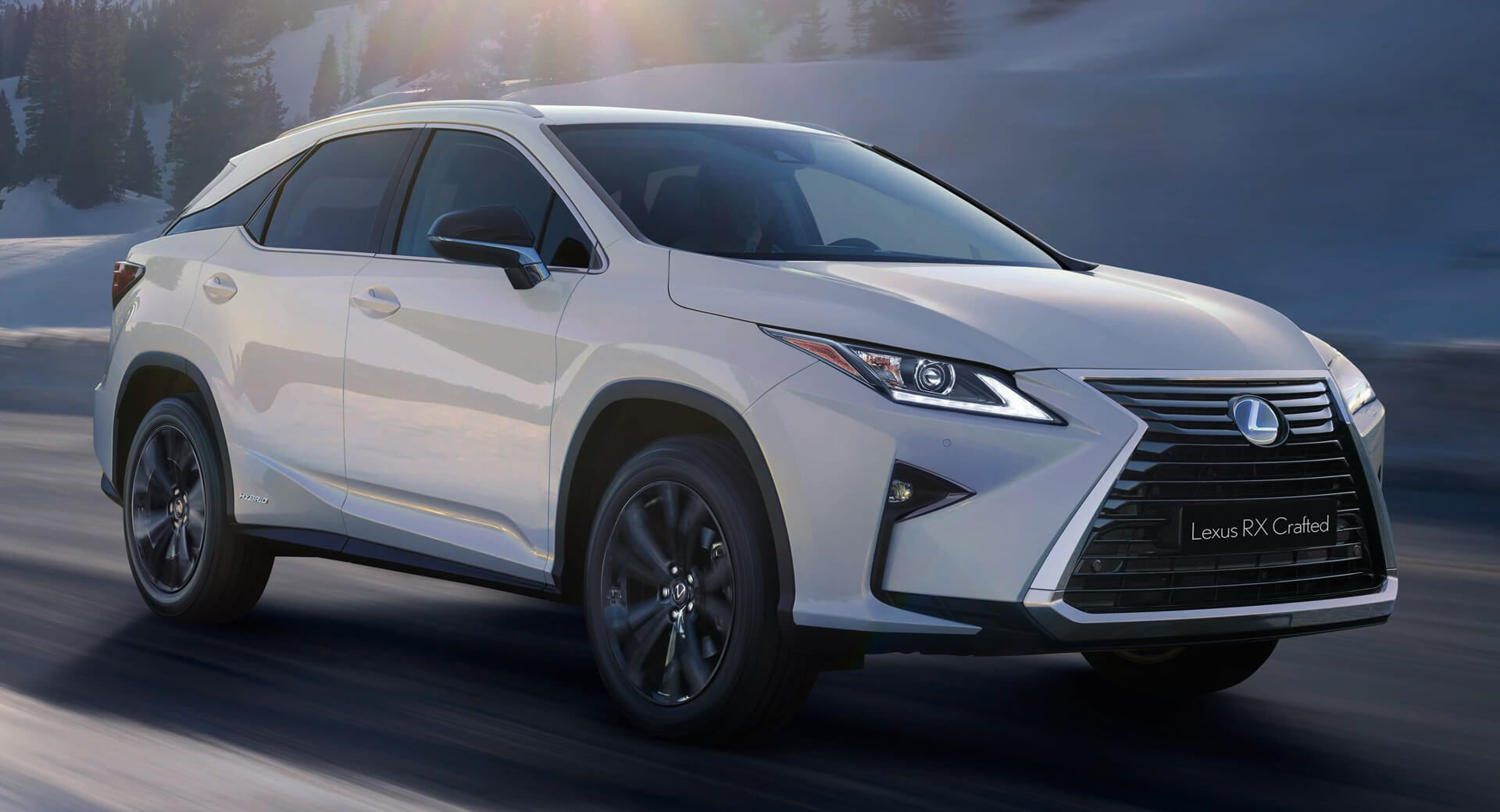 Lexus RX Crafted Limited Edition Brings Extra Kit To