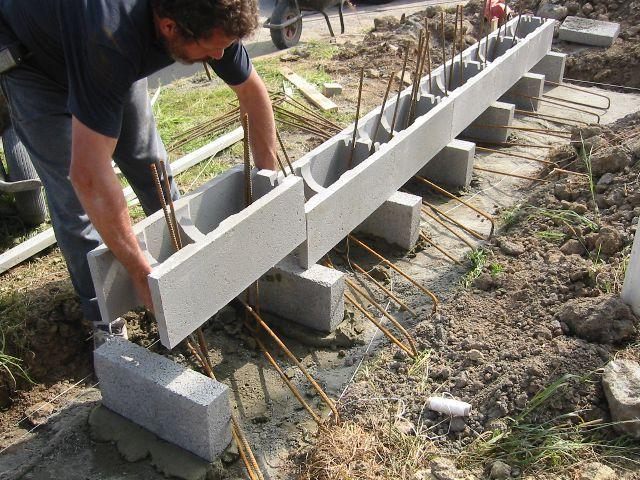 Murs armés étape par étape Béton de la Lomme bricolage