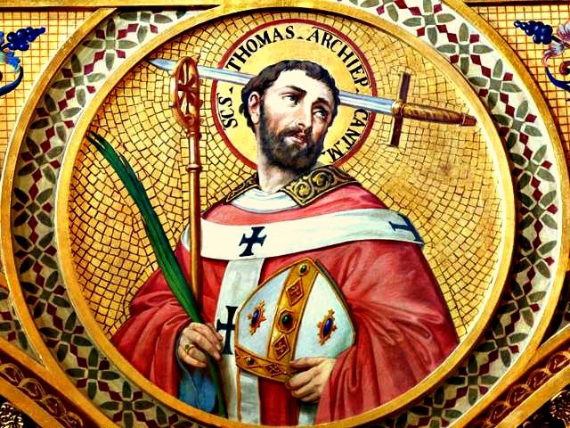 Catholic Fire: St. Thomas Becket, bishop and martyr