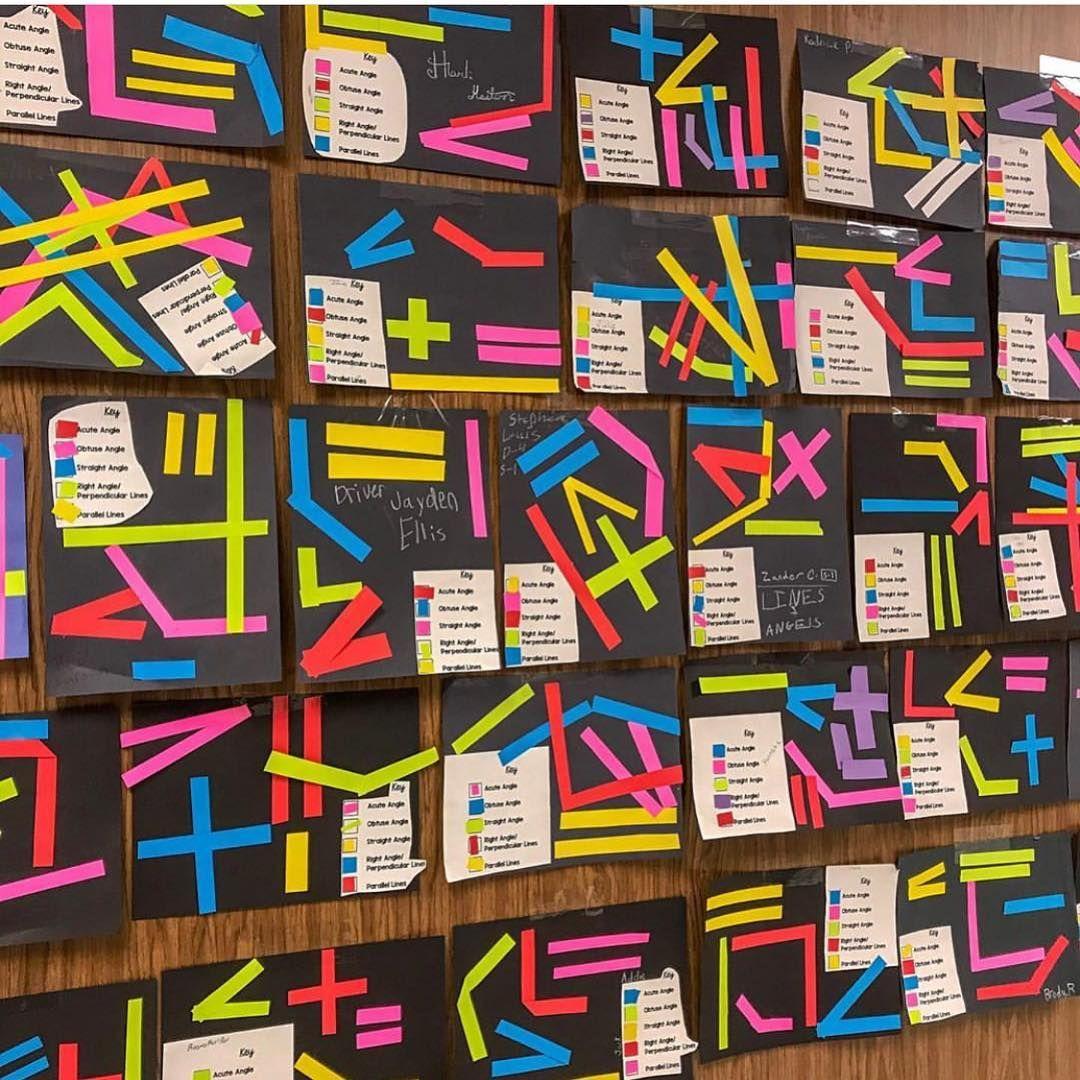 "Classroom Pinspirations on Instagram ""Art + Geometry"