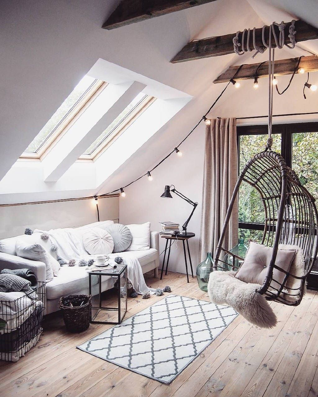 Loft bedroom design ideas  I would very much love to live in a loft like this that filled with