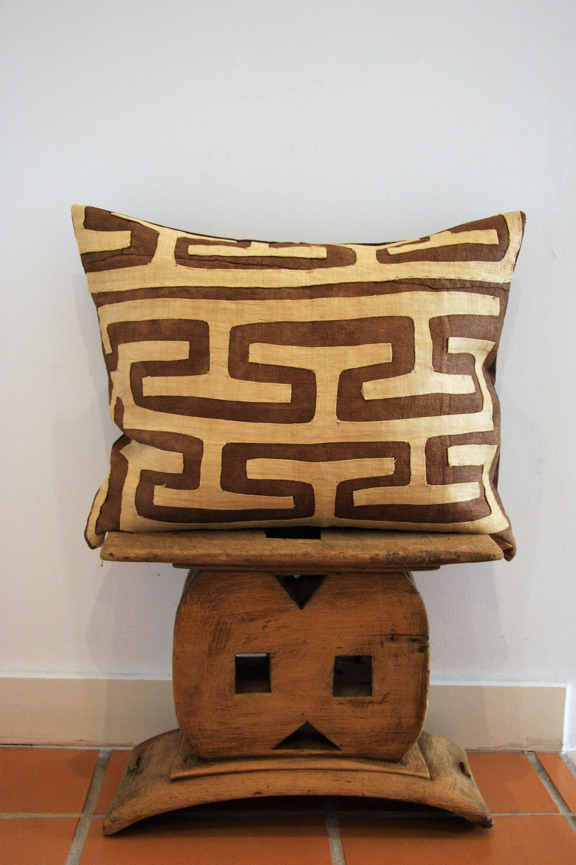 Pillowcase Kuba textile cloth DR Congo