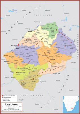 Lesotho 1 942 008 Capital Maseru Life Expectancy 52 65 World