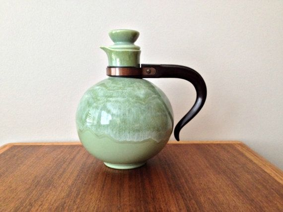 Green Coffee Carafe California Heritage by vintage19something, $75.00