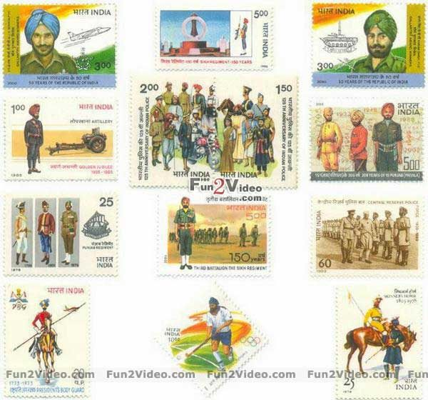 soldier-stamps-of-india