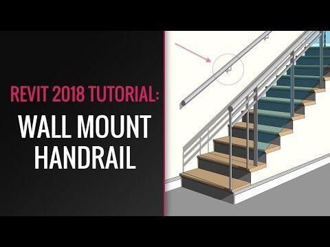 Best Revit Tutorial How To Create Wall Mount Handrail In Revit 400 x 300