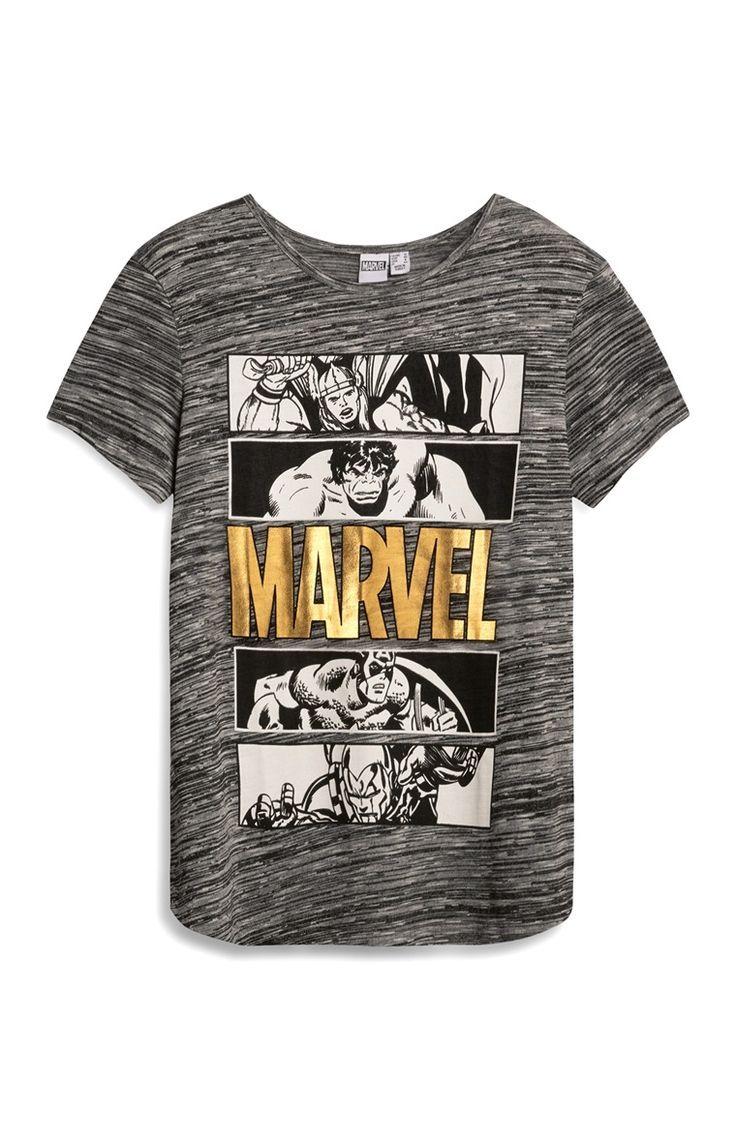 d5d7ee37ce075 Grey Marvel Avengers T-Shirt