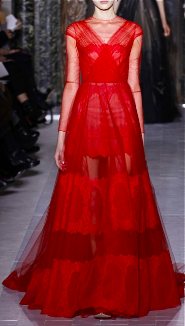 Rotes Abendkleid bei Valentino Couture | Dresses | Couture ...