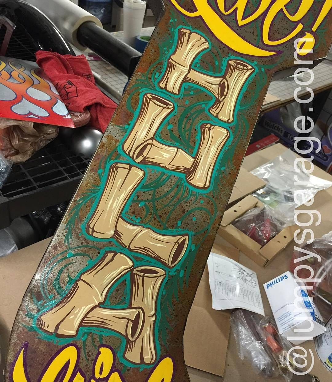Amazing hand painted bamboo lettering. Type by @lumpysgarage | #typegang if you would like to be featured | typegang.com | typegang.com #typegang #typography