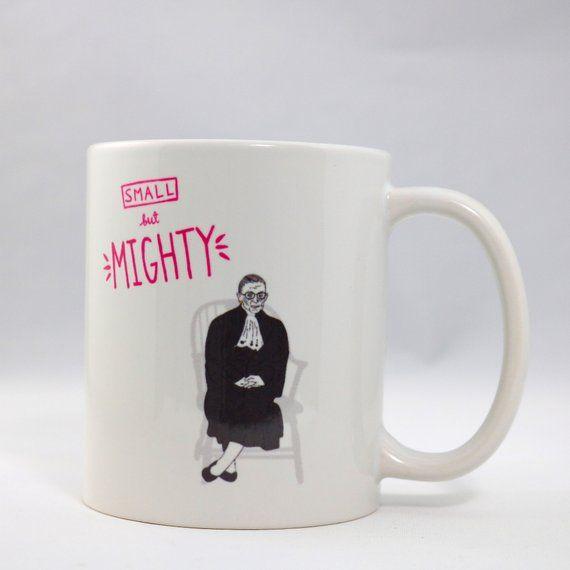 ed2f824ab93 Ruth Bader Ginsburg Mug, Law School graduation gift, law grad mug, RBG Mug,  Birthday Gift Feminist
