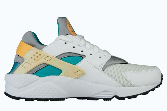 Nike Huarache White And Green