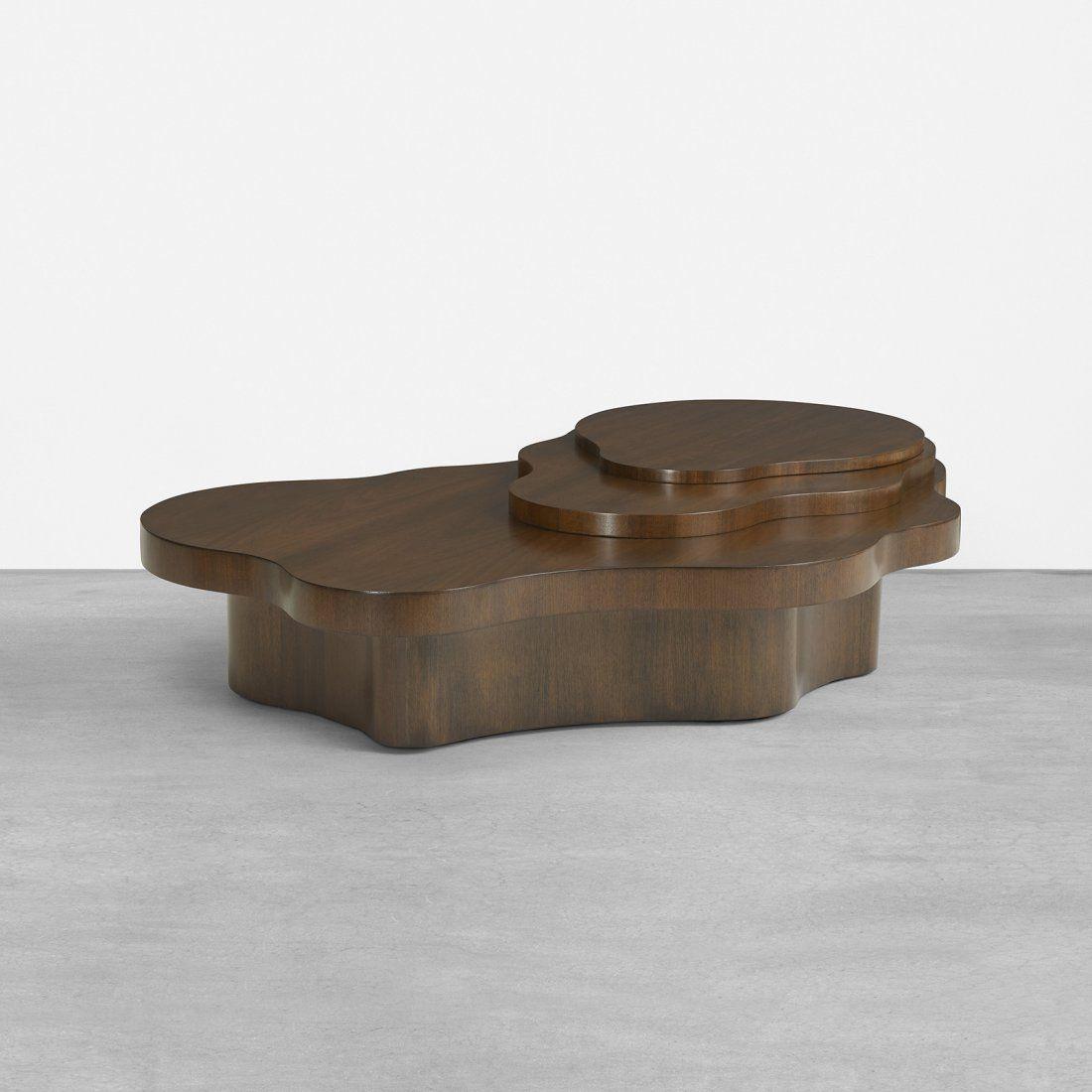 T H Robsjohn Gibbings 17660 6 Walnut Mesa Coffee Table For Widdicomb 1952