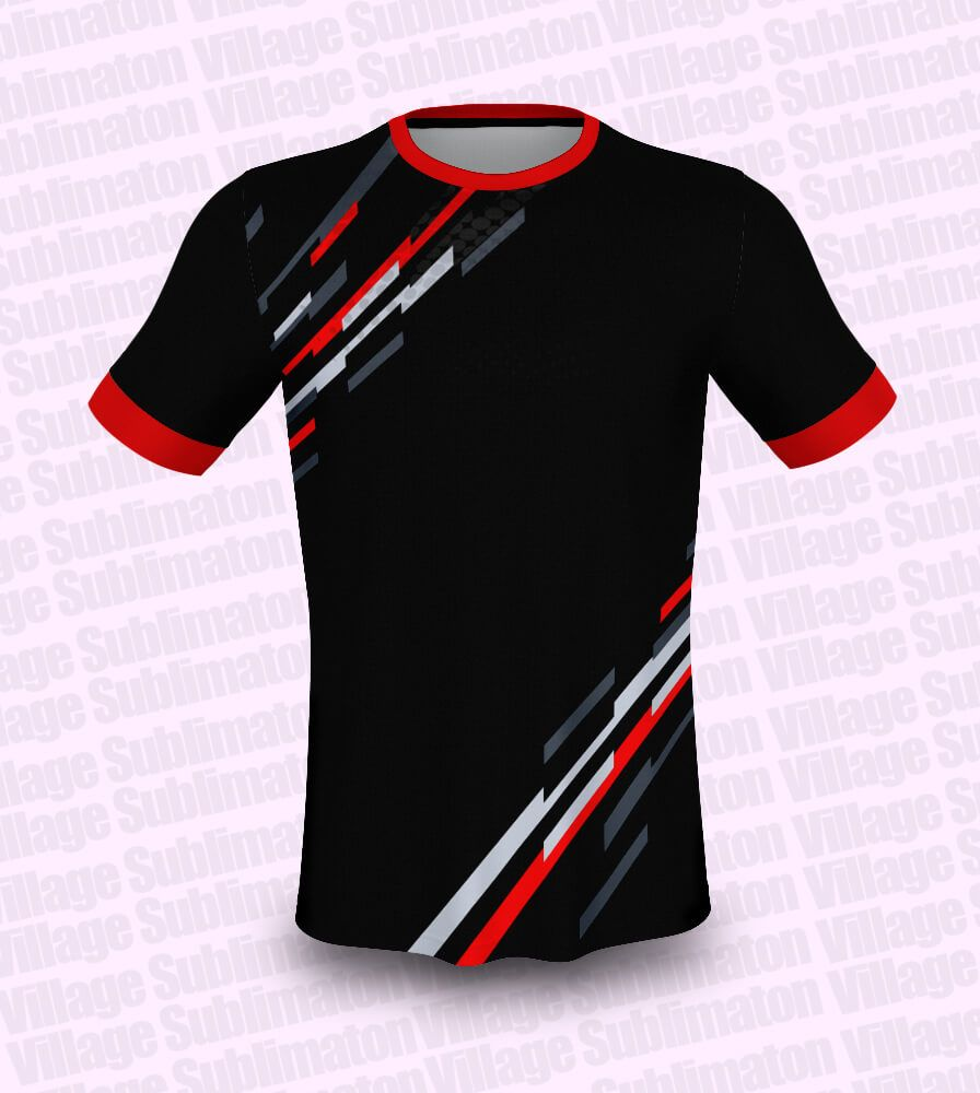 Hey Check This Red White Black Football Jersey Design Rs 150 00 Https Buyjerseydesign Com Index Php Option Com J2s In 2020 Jersey Design Jersey Football Jerseys