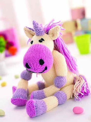 Maud pattern by Val Pierce | Unicorn knitting pattern ...