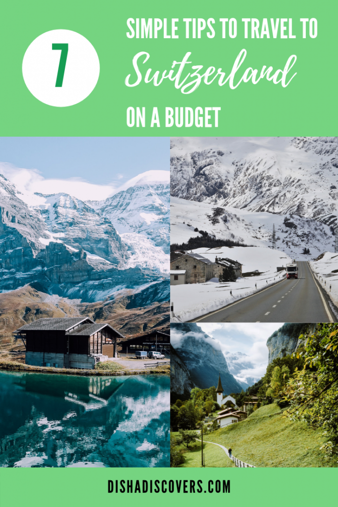 It's totally possible to travel to Switzerland on a budget despite it being an expensive country. Follow these simple money-saving tips and you'll see how it's possible to travel to Switzerland without blowing your budget #switzerland #budgettravel #traveltips #frugaltravel #budgettraveltips