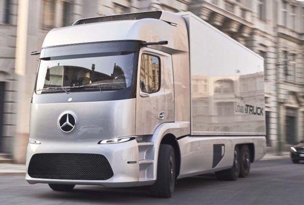 NOTICIAS | Transporte Carga de Argentina y Chile    Mercedes-Benz ya circula con su camión eléctrico por Europa
