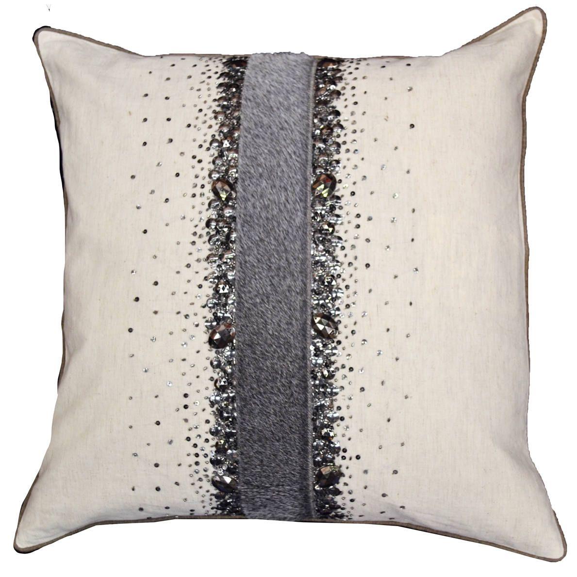 Cloud9 Design 12184ga Wh 20x20 Karia Decorative Pillow Definingelegance Cloud9design Decorativepillow Throw Pillows Coral Throw Pillows Decorative Pillows
