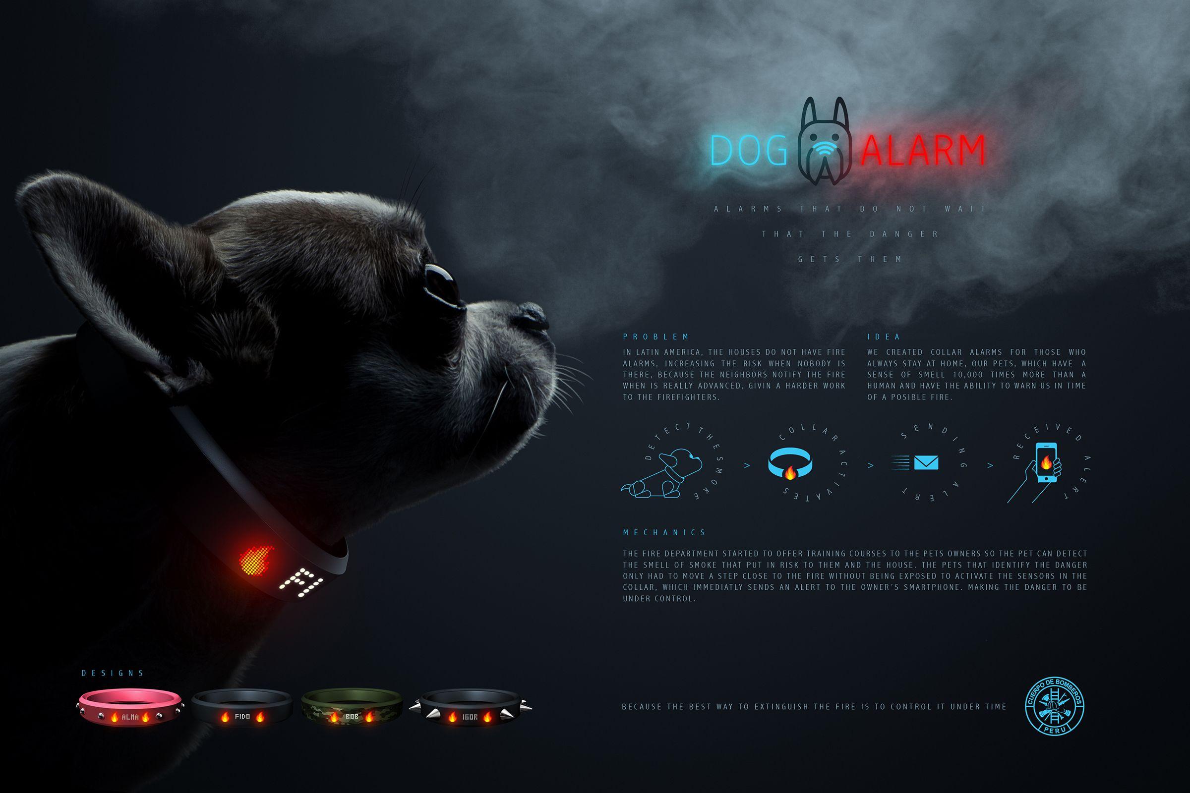 Cuerpo de Bomberos del Perú: DogAlarm | Ads of the World™