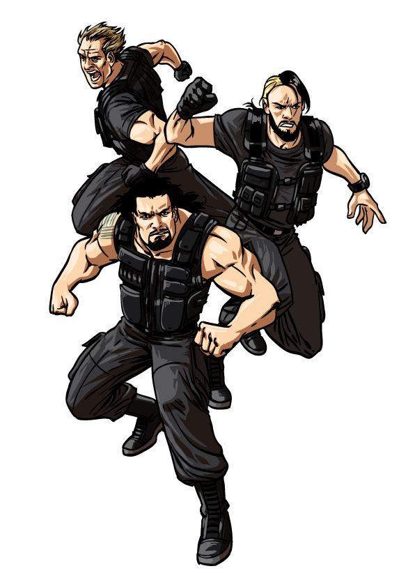 The Shield Wwe Wwe Kids Wwe Dibujos Y Lucha Libre