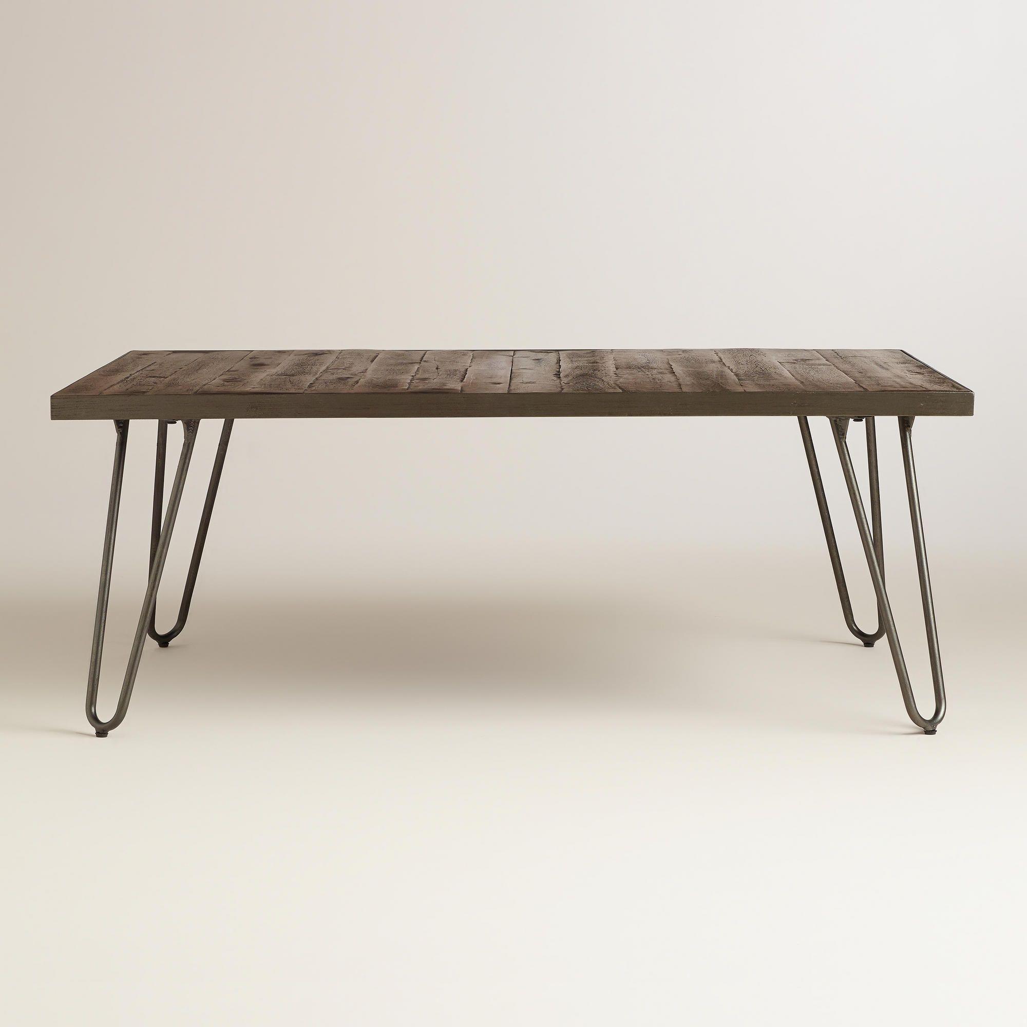 Rectangular Wood Hairpin Coffee Table Coffee Table Rectangle Coffee Table Rectangular Coffee Table [ 2000 x 2000 Pixel ]