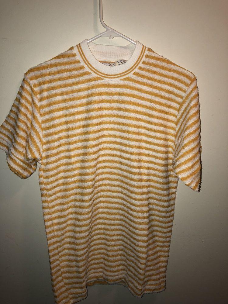 37ac87e5fe0 Vintage Auburn Mills Terry cloth shirt