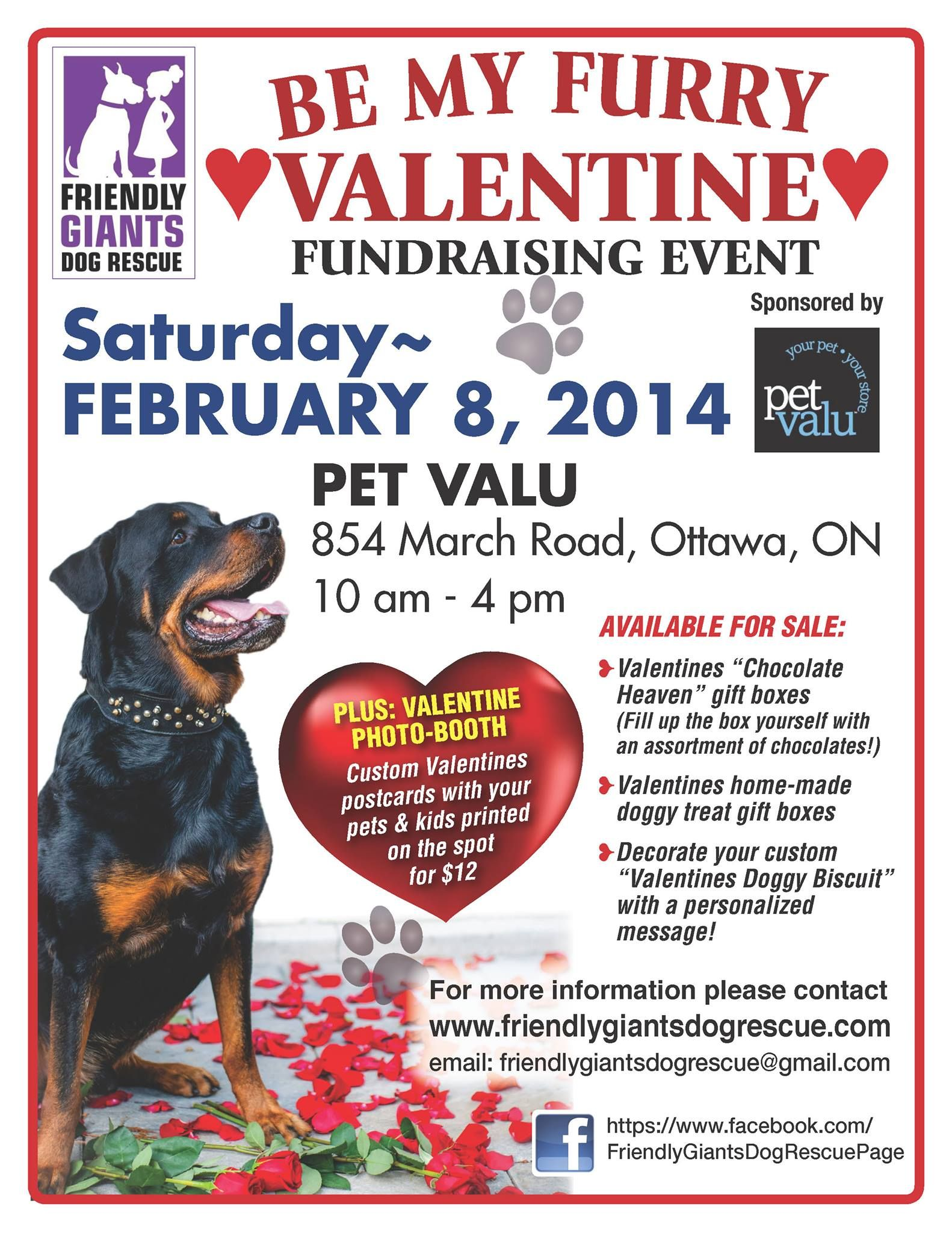 Friendly Giants Dog Rescue Valentines Day Dog Dog Fundraiser Dog Rescue Fundraising