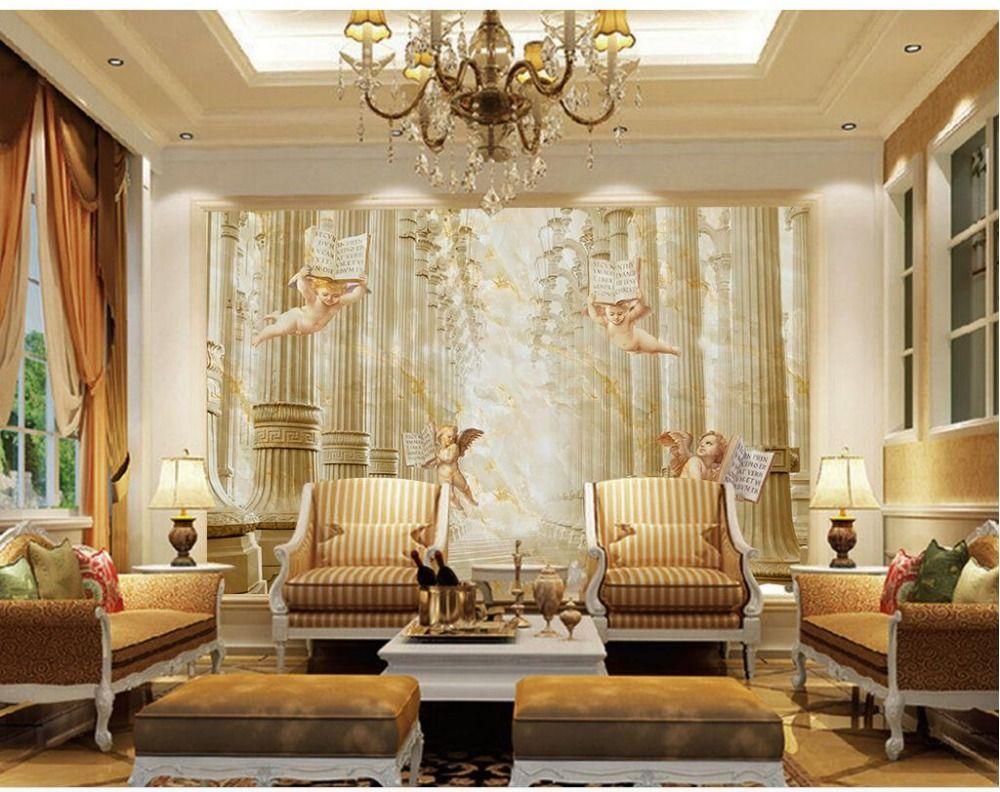 Best 3D Wallpaper For Room Wall 3D Wallpaper Roman Pillar 640 x 480