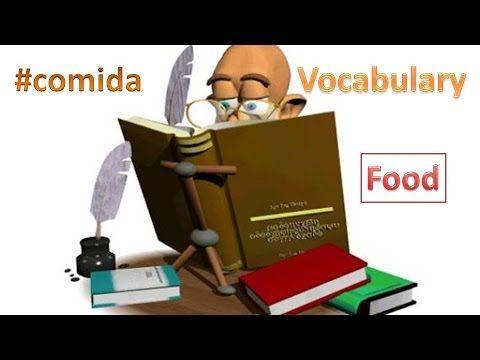 Palabras de la comida carne y pez #comida #alimento #carne #pez #pescado  #palabras #food #words #meat #fish