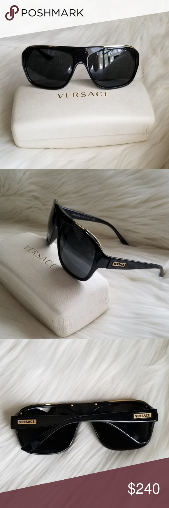 100Authentic No Mod4227 Condition Versace Sunglasses In Mint 76bfYgy