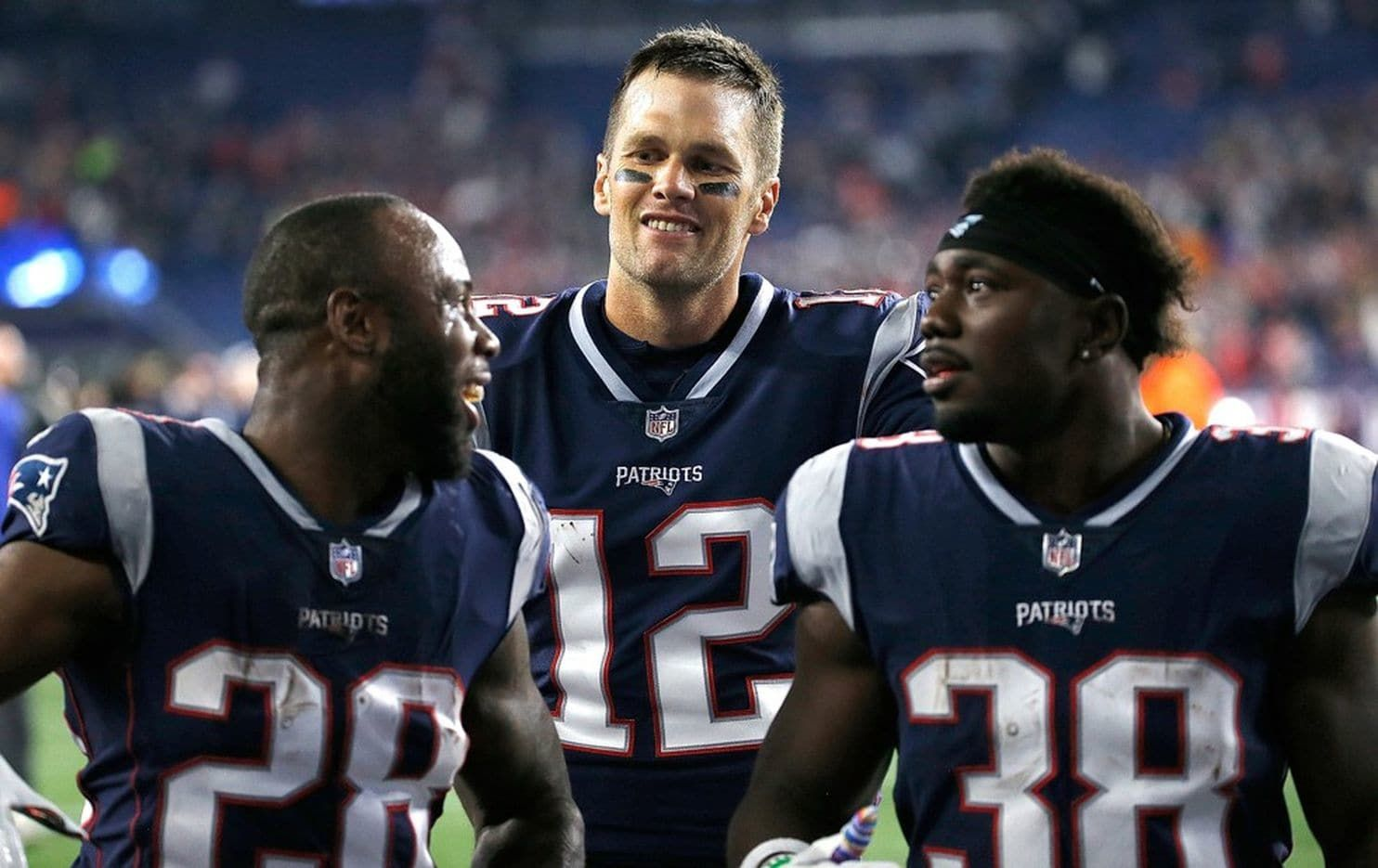 Hi I M Tom Brady How The Patriots 41 Year Old Quarterback Relates To Teammates With Images New England Patriots