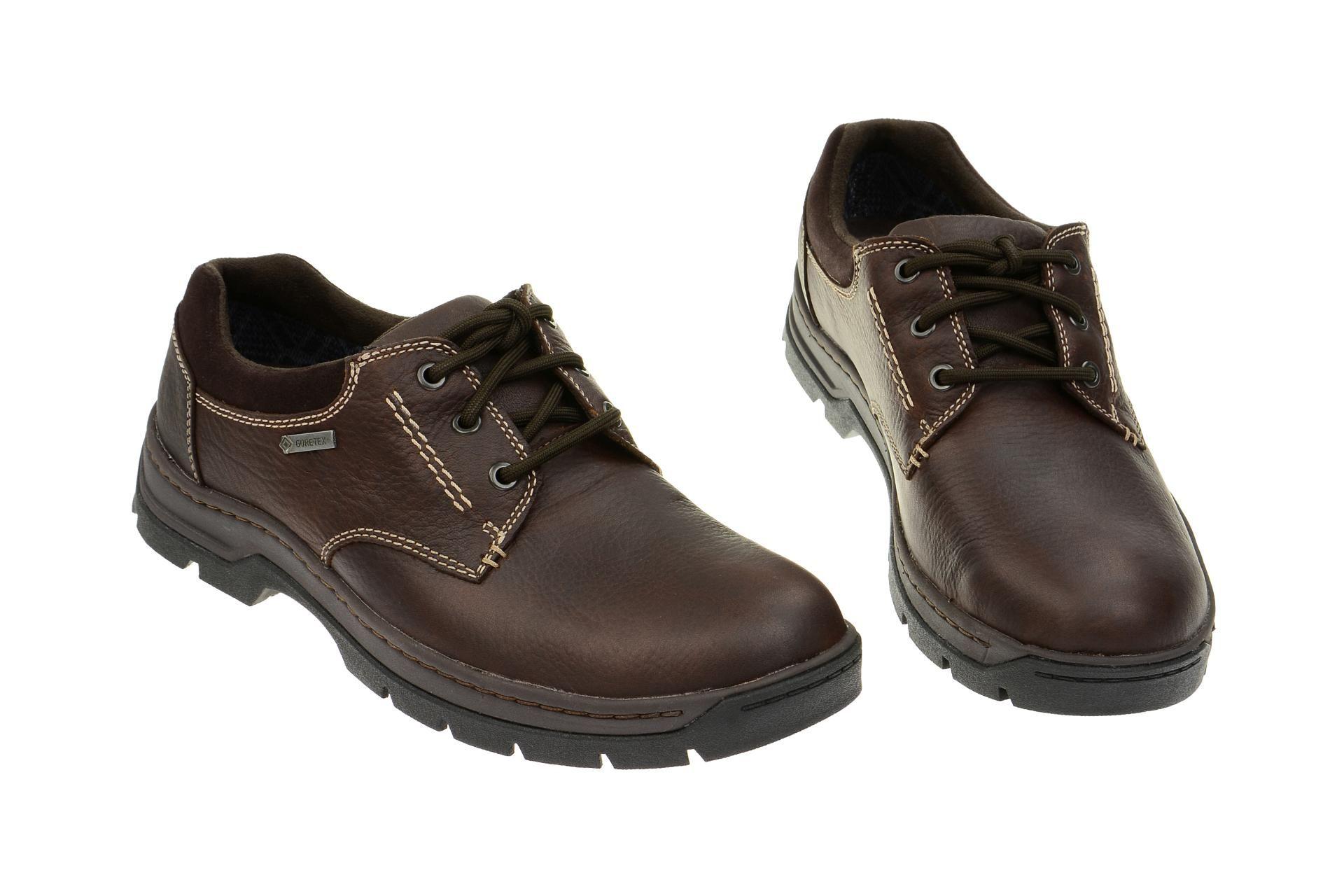 Clarks Stanten Walk GTX Schuhe braun | Herrenschuhe Auf