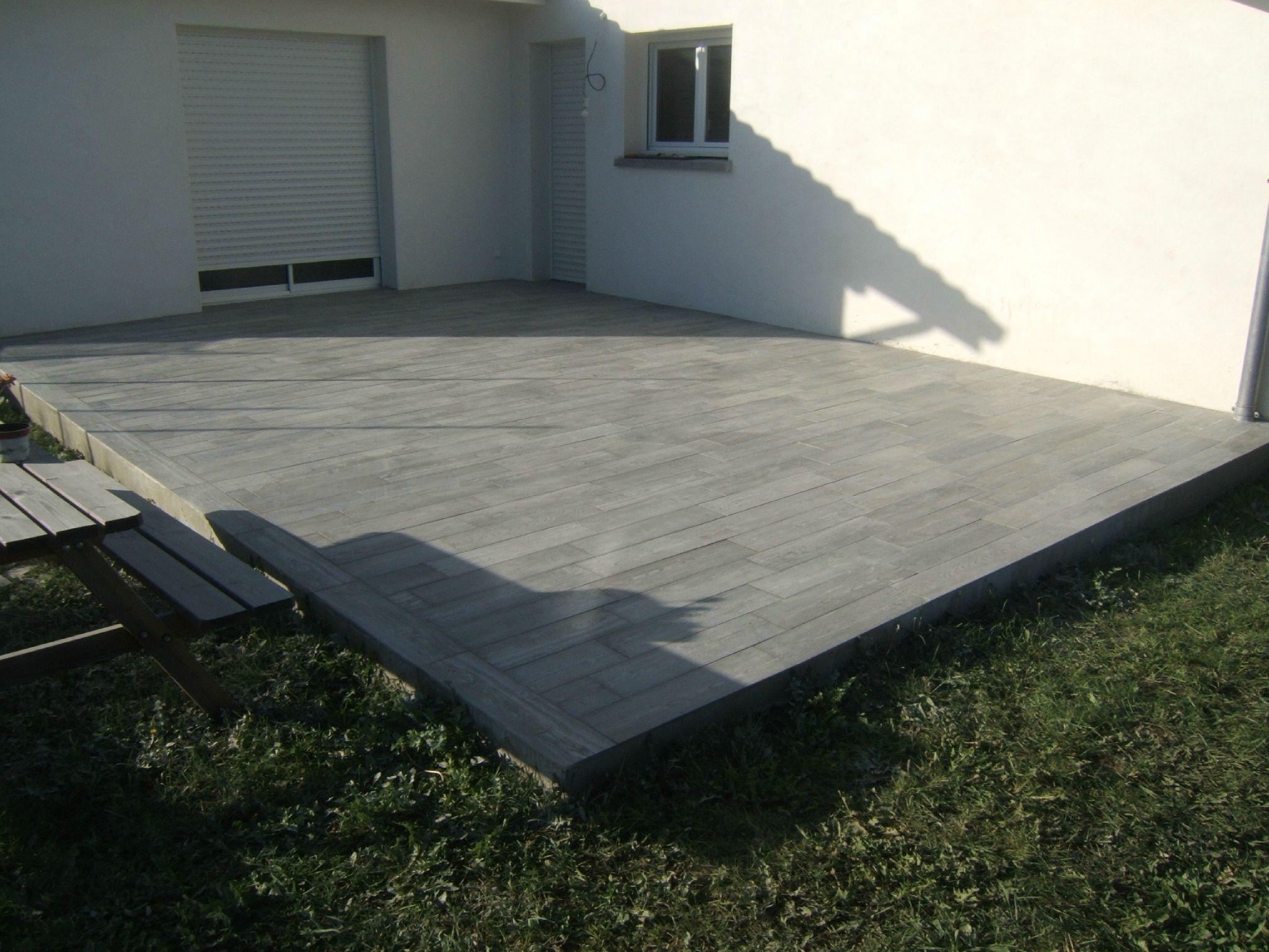 Photo De Terrasse En Carrelage pour terrasse carrelage imitation plancher | terrasse | pinterest