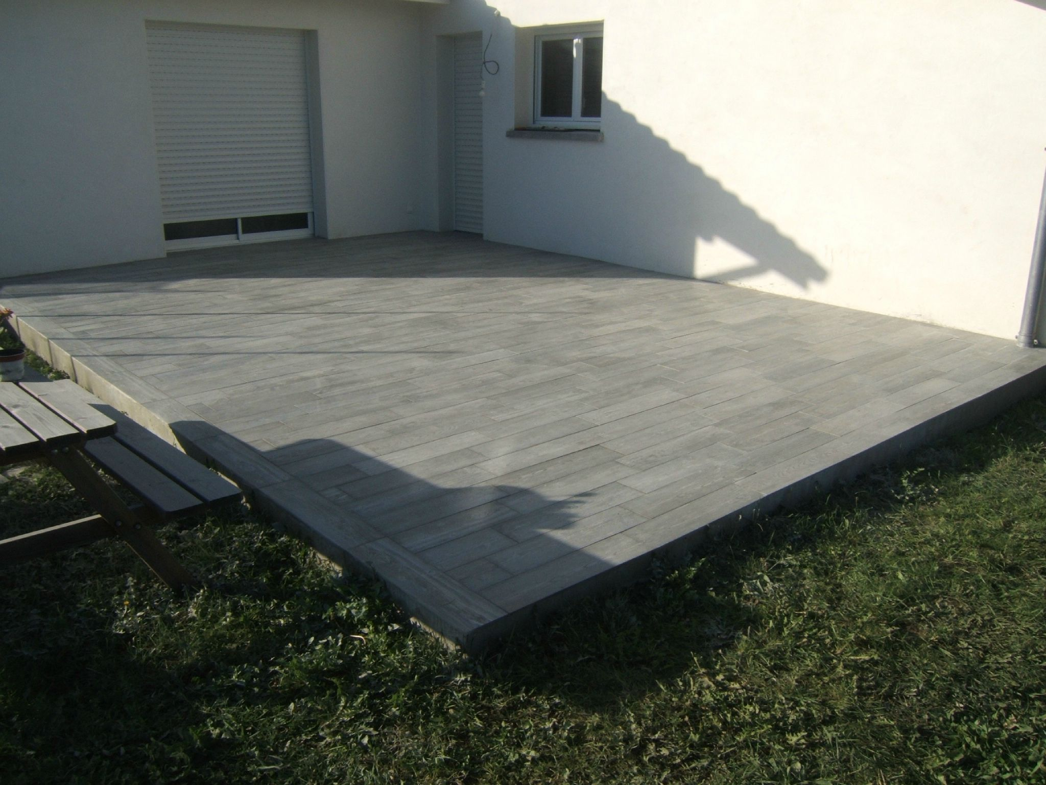 Terrasse Carrelage Imitation Plancher