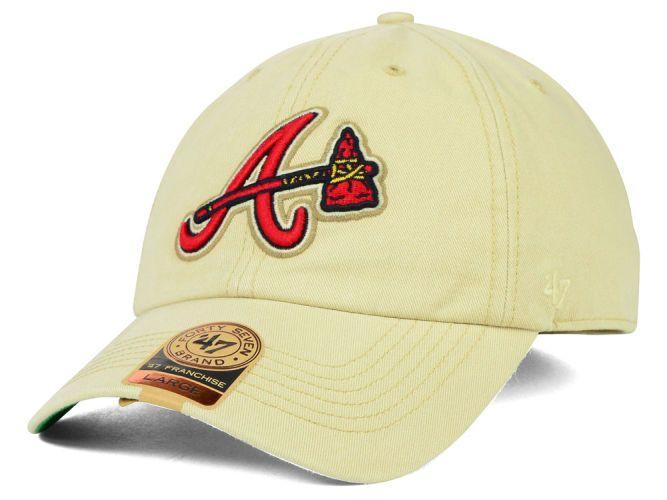 c527e3b9d0e Atlanta Braves MLB Lawrence  47 Franchise Cap Hats